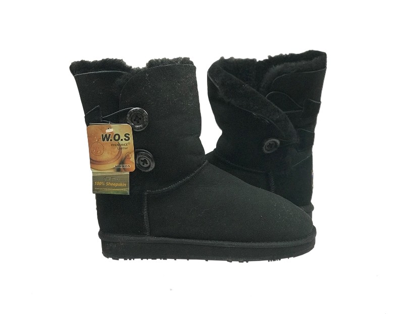 Two Button UGG Boots